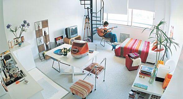 Cómo Decorar un Piso de 1 sola Habitación o Loft