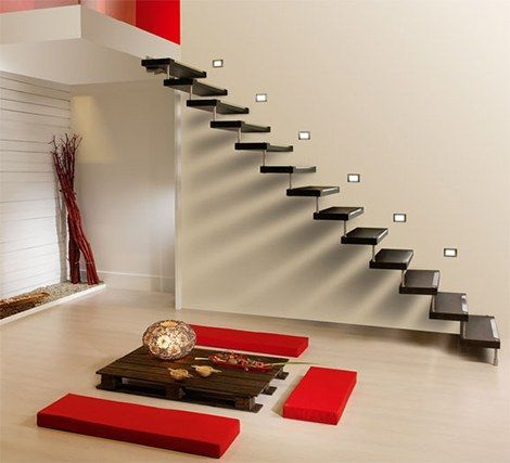 Decorar escaleras complementos para decorar for Escaleras zara home