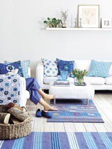 Decorar la casa con color turquesa