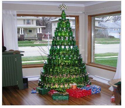 Decoraci n navide a crear un rbol de navidad barato - Arbol navidad barato ...