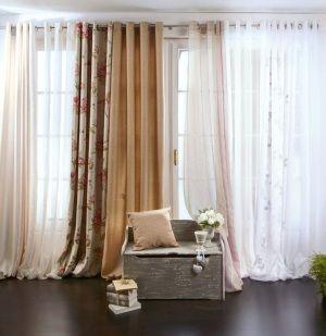 Cortinas de leroy merlin complementos para decorar - Visillos para salones ...