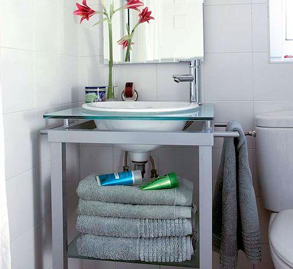 Muebles Cuarto Baño Silestone : Muebles lavabo espacios reducidos vangion