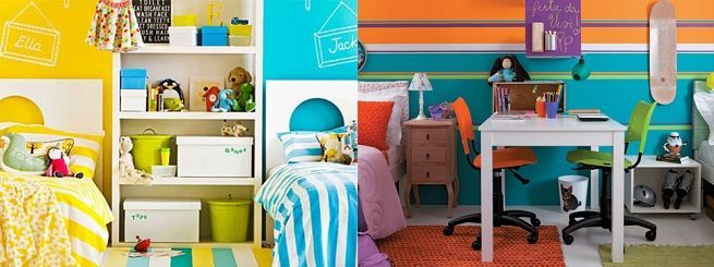 C mo decorar una habitaci n infantil compartida - Como decorar una habitacion infantil ...