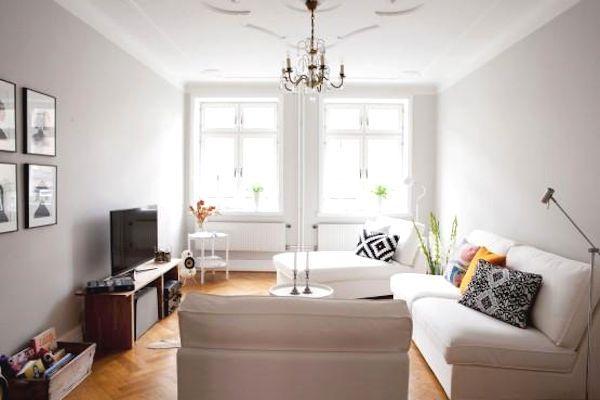 Muebles blancos tiles tips para cuidarlos complementos para decorar - Decorar muebles blancos ...