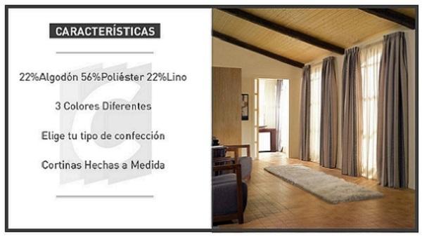 Cortina Ideal, Catálogo de Visillos para tu Casa