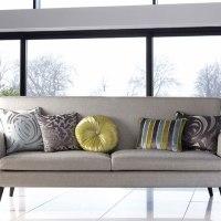 Consejos para colocar cojines en tu sofá