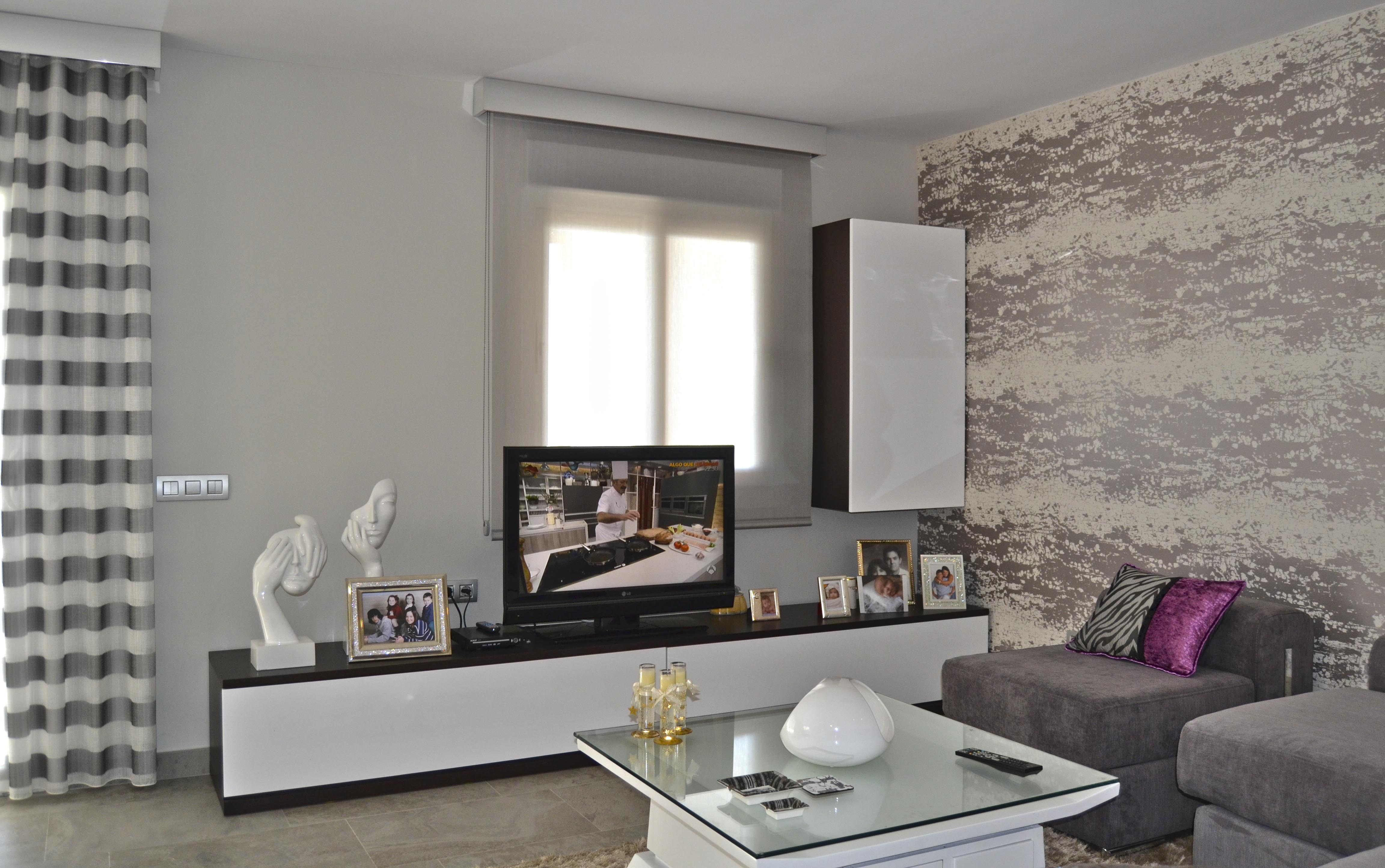 Salones En Wengue Salon Wengue Y Blanco Amazing Decoracion Salon Moderno With Salon