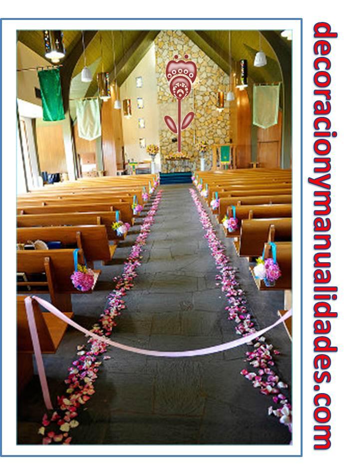 Decorar Altar De Iglesia ~ Como Decorar El Camino Al Altar De La Iglesia Decoracion  New