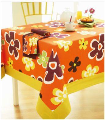 Cuatro manteles para primavera - Manteles mesas grandes ...