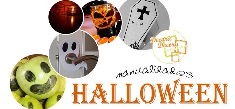 Decoraci n de halloween hecha a mano y barata for Decoracion halloween barata