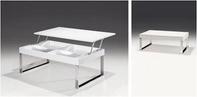 Mesas de centro elevables decoran y son pr cticas - Mesas elevables de centro ...