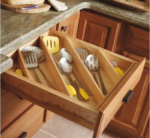 Idea para organizar los cajones de la cocina for Organizar cajones cocina