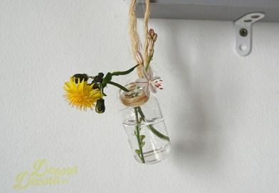 Decorar con flores antes de primavera.