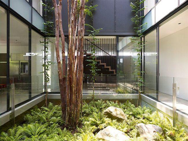 Jardines Interiores Modernos 25 Fotos Y Consejos De Diseno