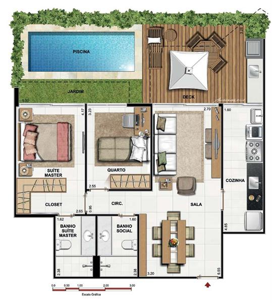 PLANO DE CASA DE 90 M2 planos de casas Pinterest House - Plan De Maison Originale