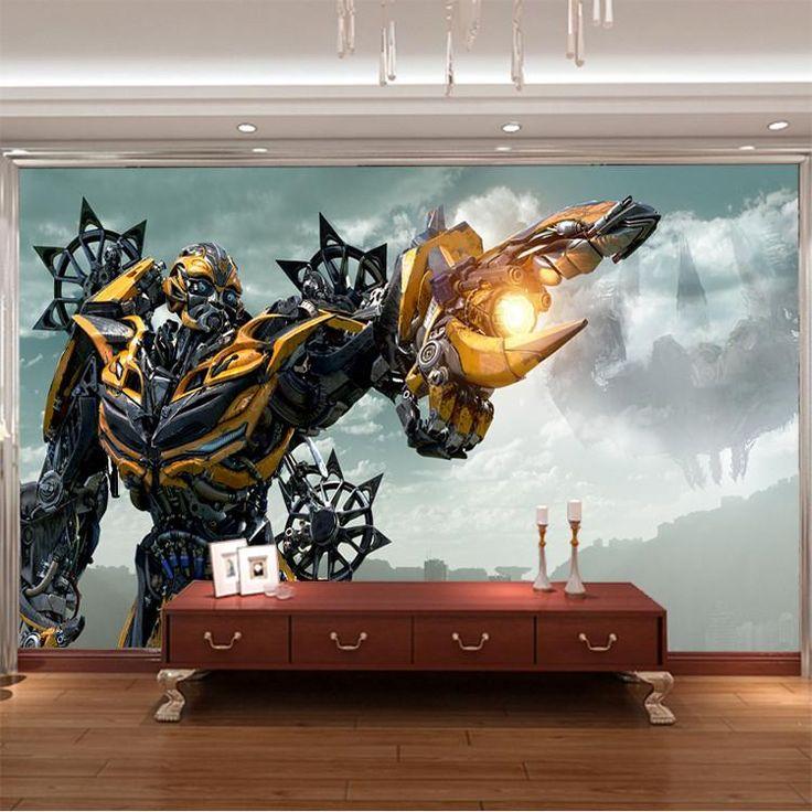 3d Wallpaper Designs For Bedrooms Papel De Parede De Super Her 243 Is Decorando Casas