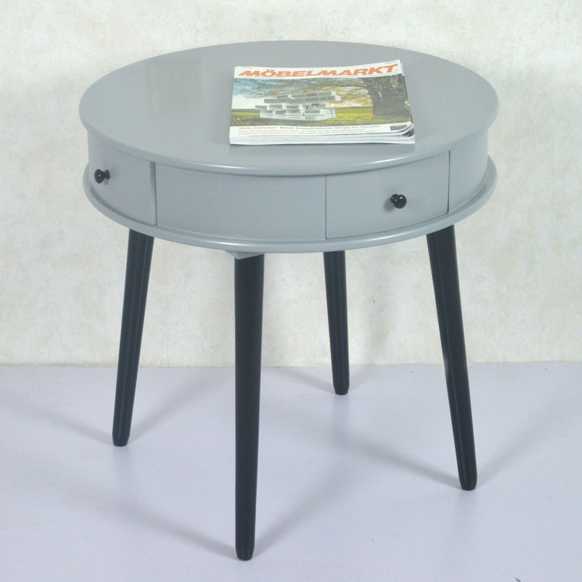Round Coffee Table With Drawers 22 0d Round Wood Coffee Table With 4 Drawers Ji3293