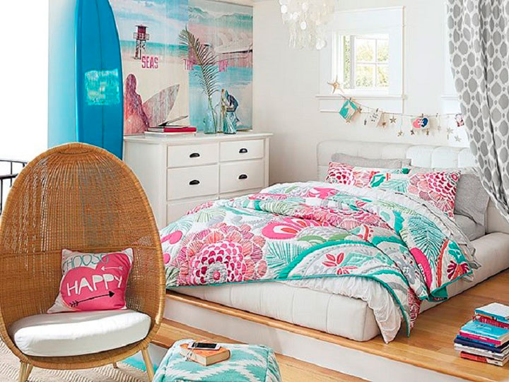 Percheros Originales De Pie Cómo Decorar Una Habitación Juvenil En 2019 - Ideas Con Fotos