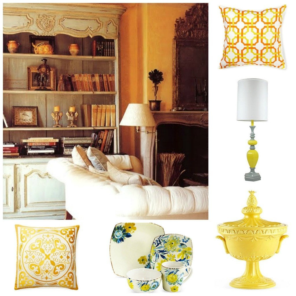 Yellow Accents Home Decor Home Decorating Trends 2014 Yellow Decorated Life