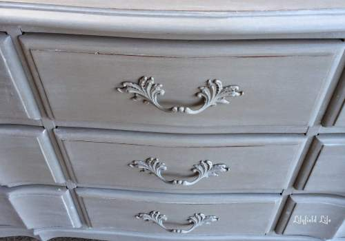 Weathered painted  french drawers Lilyfield Life-003