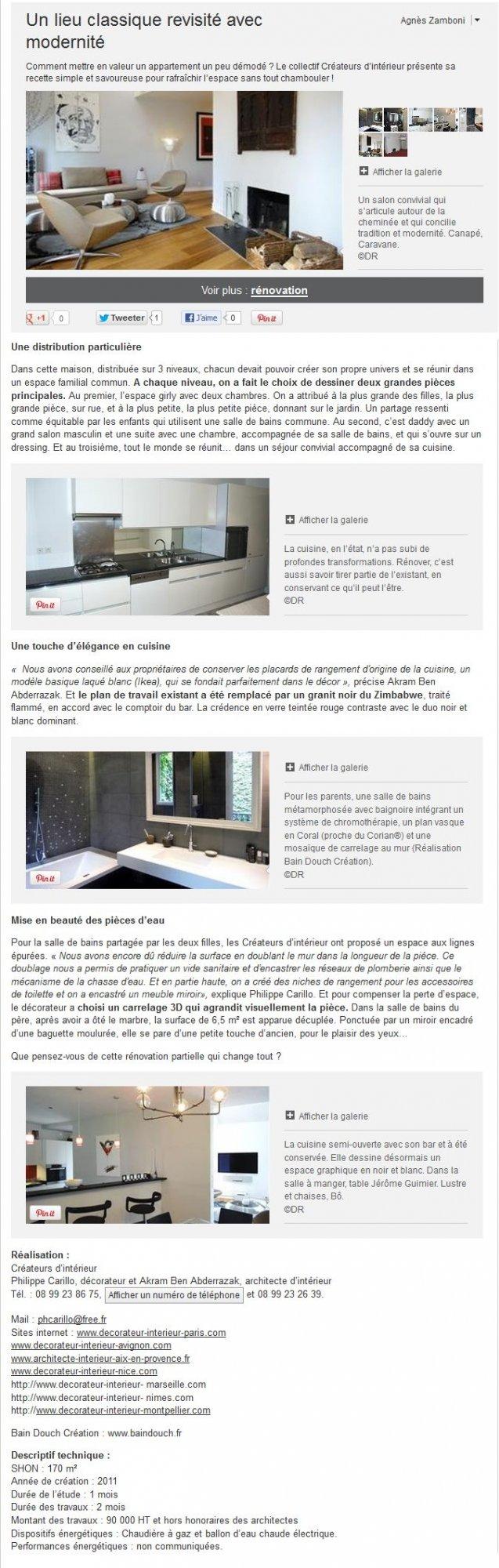 architecte d'intérieur a nimes | achat appartement 2 pièces 45m²