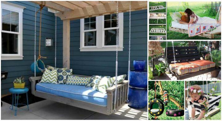 Diy Patio And Garden Swings 20 Fabulous Ideas