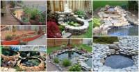 15+ DIY Backyard Pond Ideas