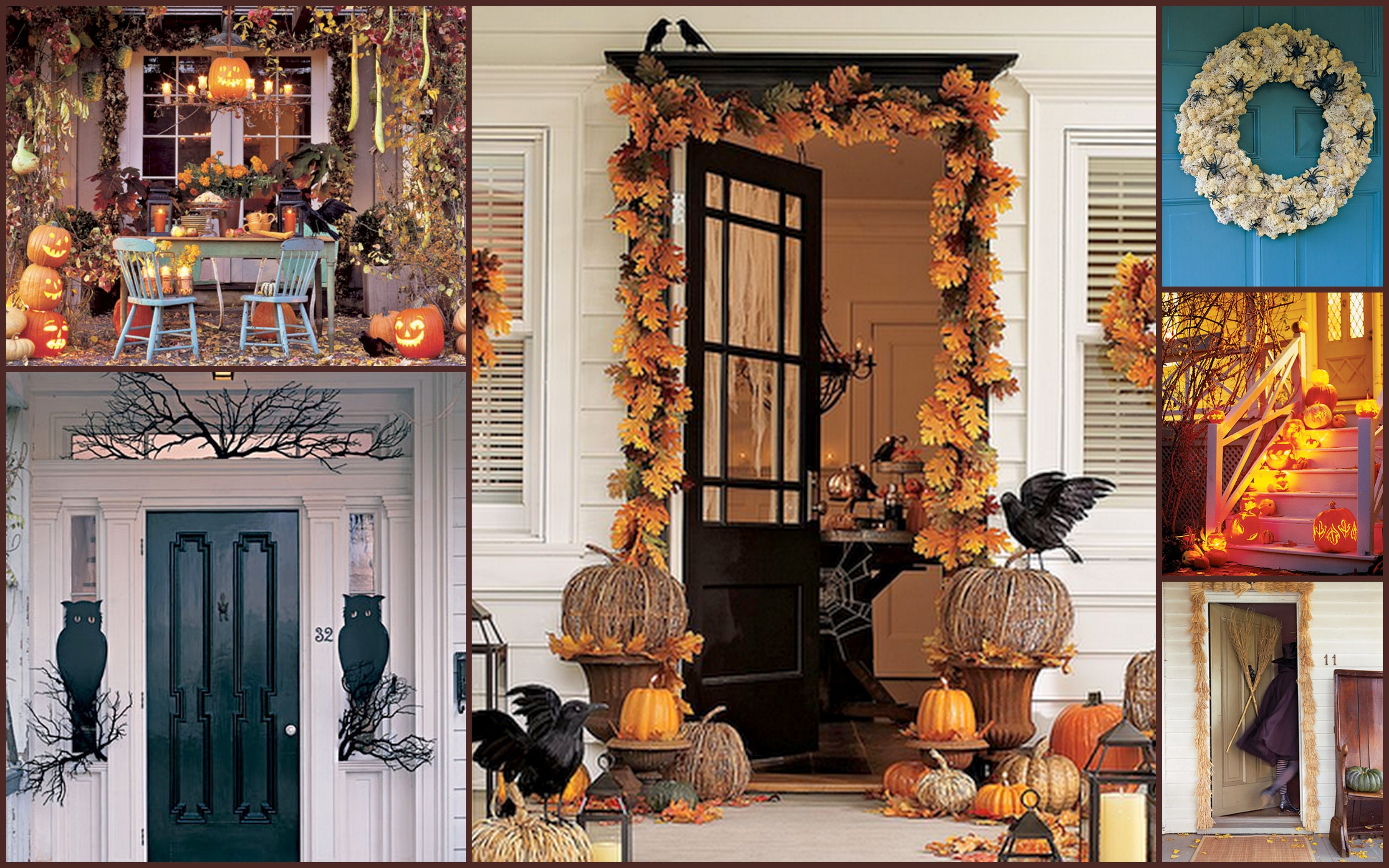 Halloween decorations outside - Halloween Patio Decorating Ideas Just A Few Of The Ideas We Have Gathered For You Come