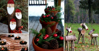 10 Wonderfull Christmas outdoor Decorations