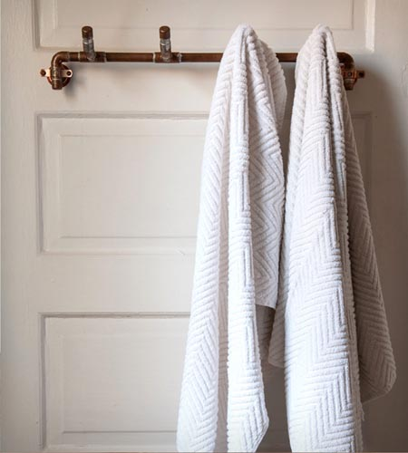 Very Small Bathroom Design Towel Racks: 10 Fun And Functional Alternatives - The