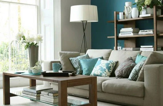 Small Living Room How To Decorate Small Spaces - Deko Mintgrün