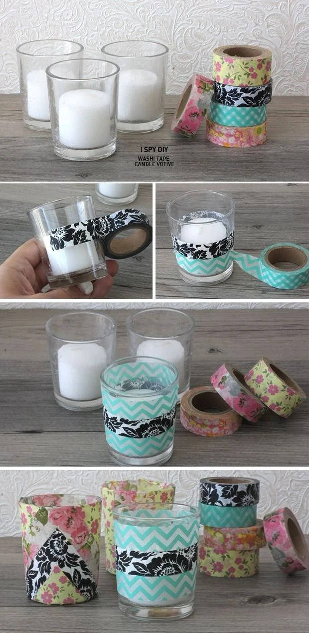 Washi Tape Diy Washi Tape Diy Projects | Decorating Your Small Space