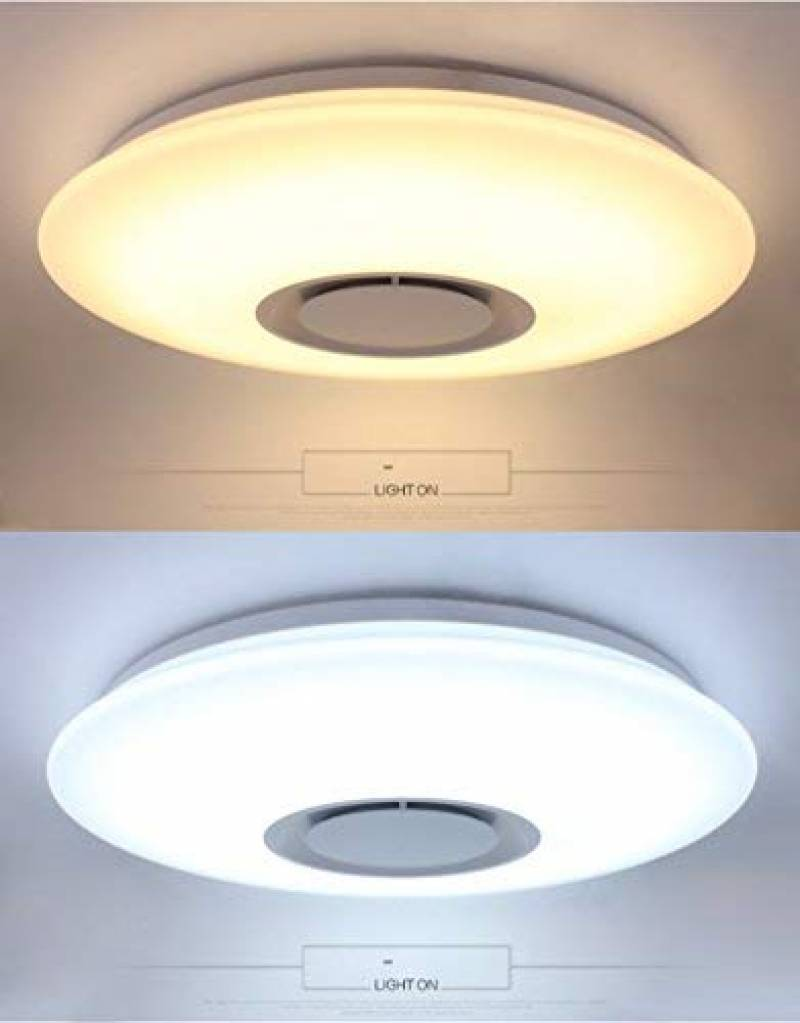 Plafonnier Led Vizzini Plafonnier Led Changement Couleur