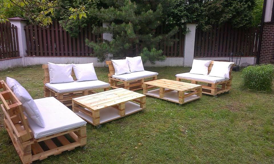 Salon De Jardin En Palette En Bois Comment Faire | Facile ...
