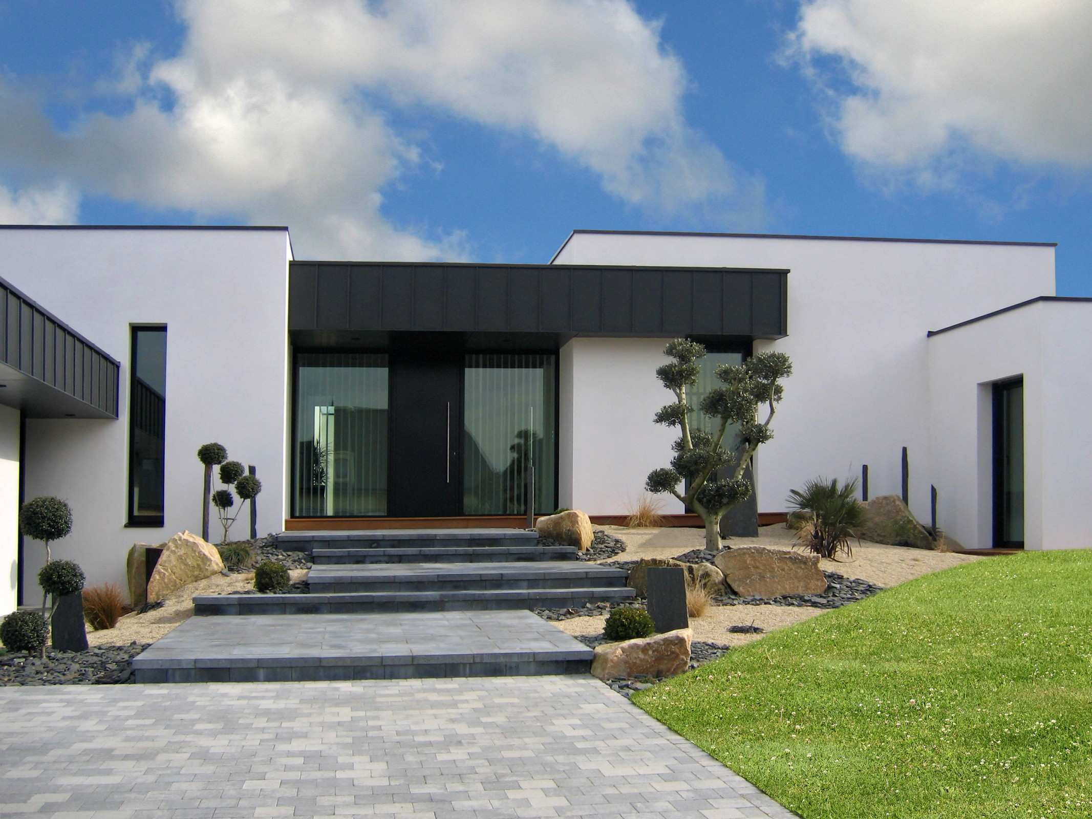 Decoration Exterieure D\'une Maison | Decoration Facade Exterieur ...