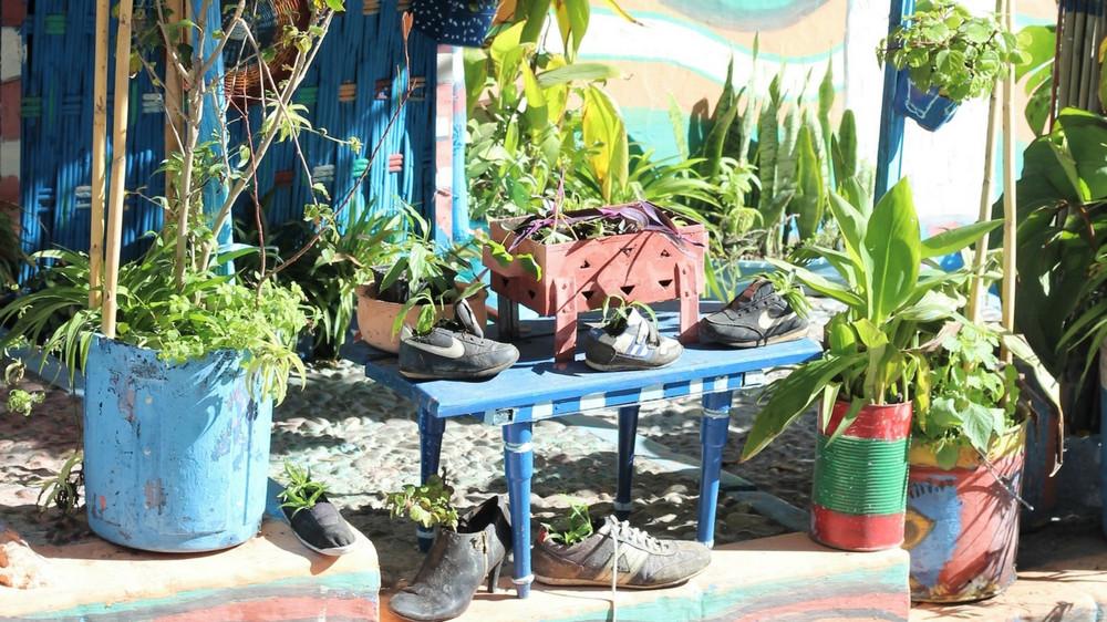 Idee Salon De Jardin Recup   Des Idées De Décoration Du Jardin Bio ...