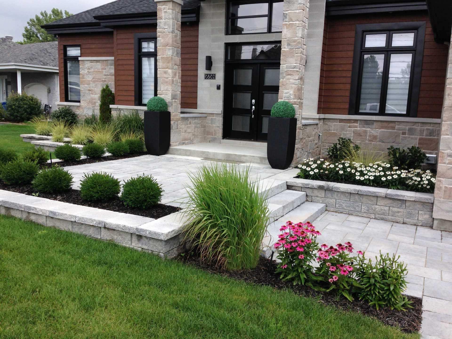 Idee Amenagement Jardin Entree Maison