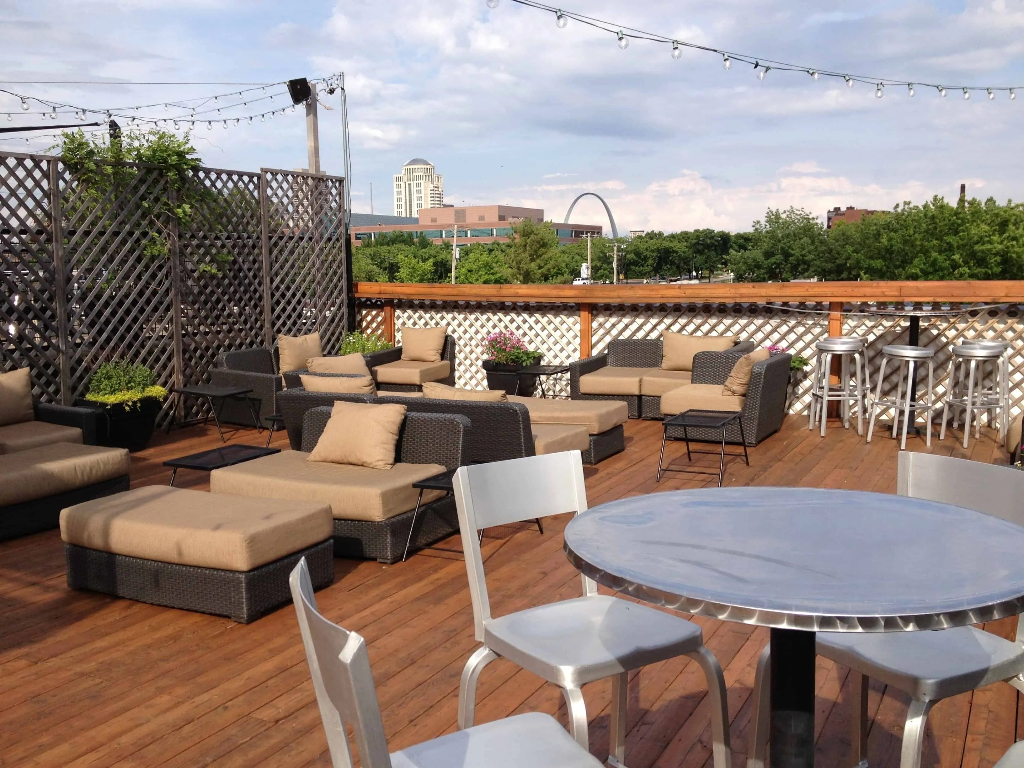 Deck Furniture Ideas The Coziest Rooftop Deck Ideas Decoration Channel