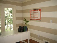 Stripes Wall Decor Ideas | Decoration Ideas