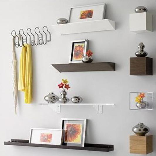 Unique Ideas For Wall Shelves Decoration Ideas