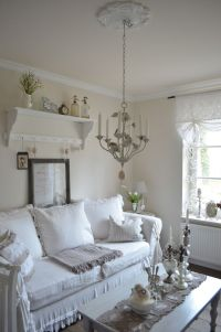 Cool Shabby-Chic Style Living Room Design