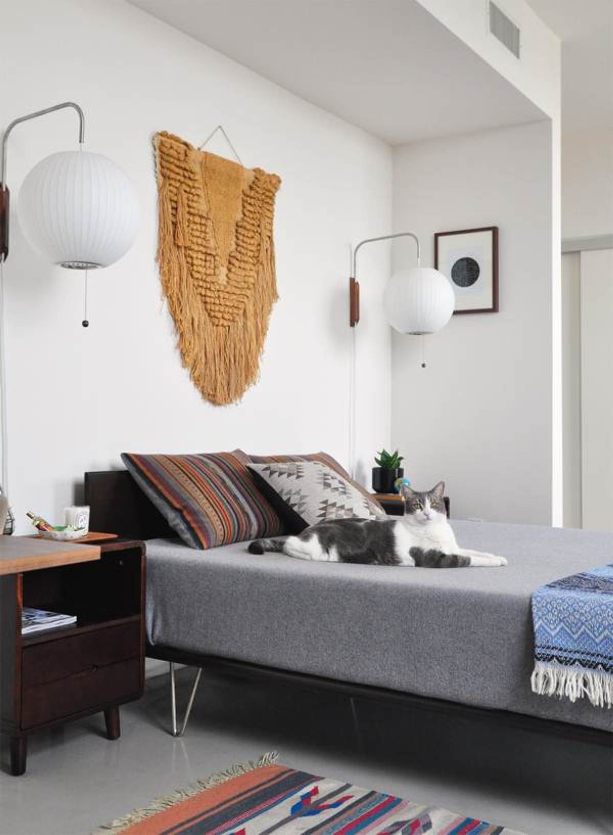 Mid Century Modern Bedroom Design