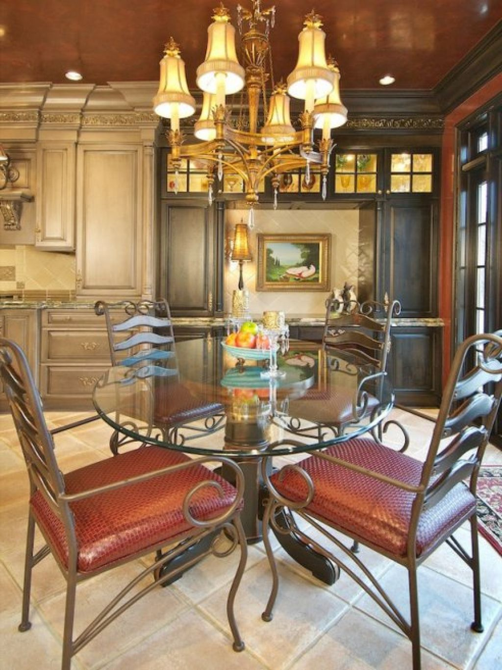 Traditional Dining Room Design Romantic Traditional Dining Room Design