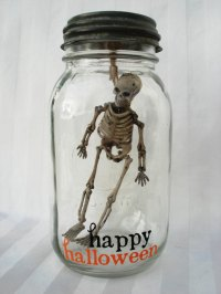 Vintage Halloween Skeleton Decorations