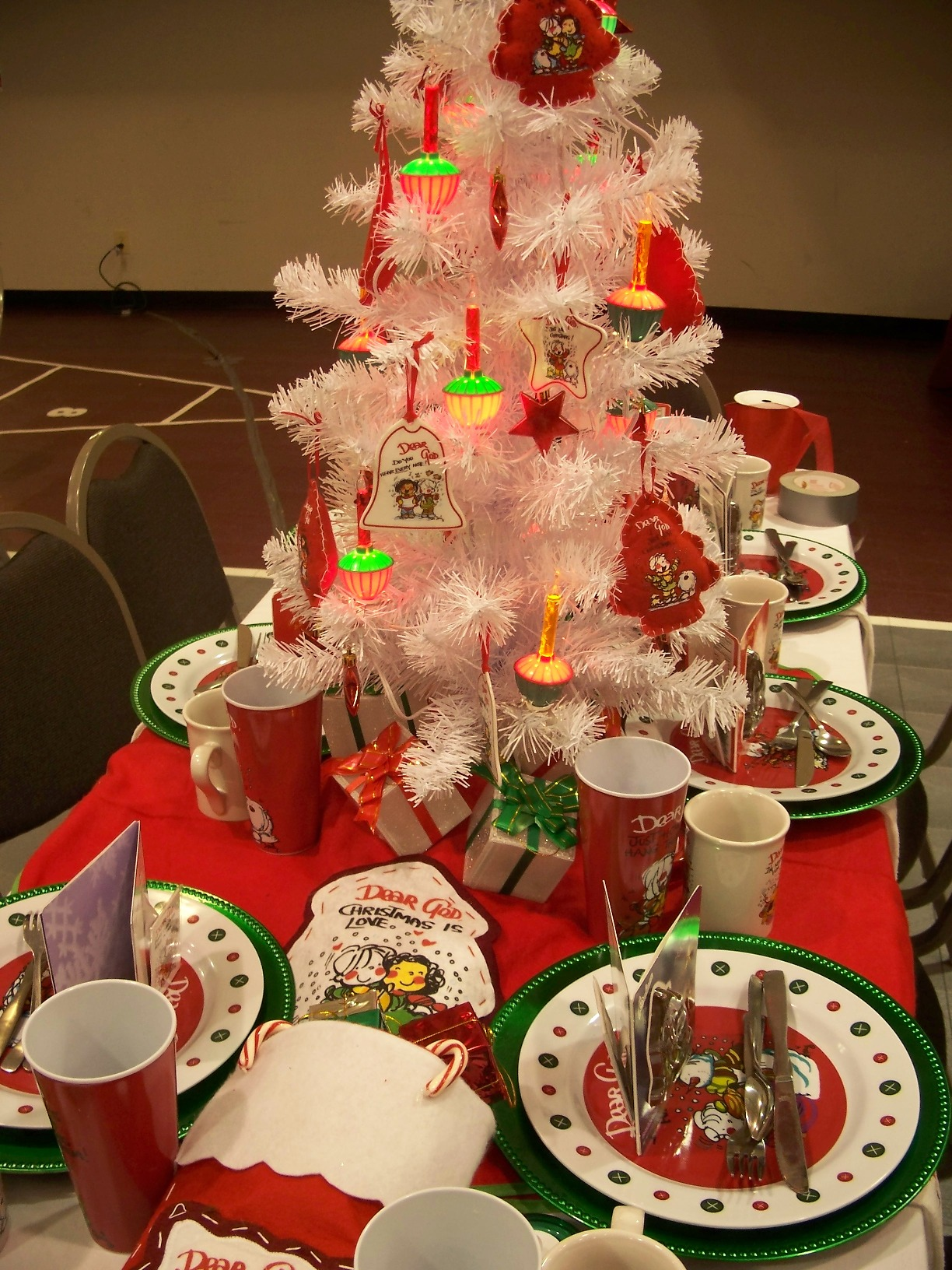 27 White Christmas Table Decorations Ideas Decoration Love