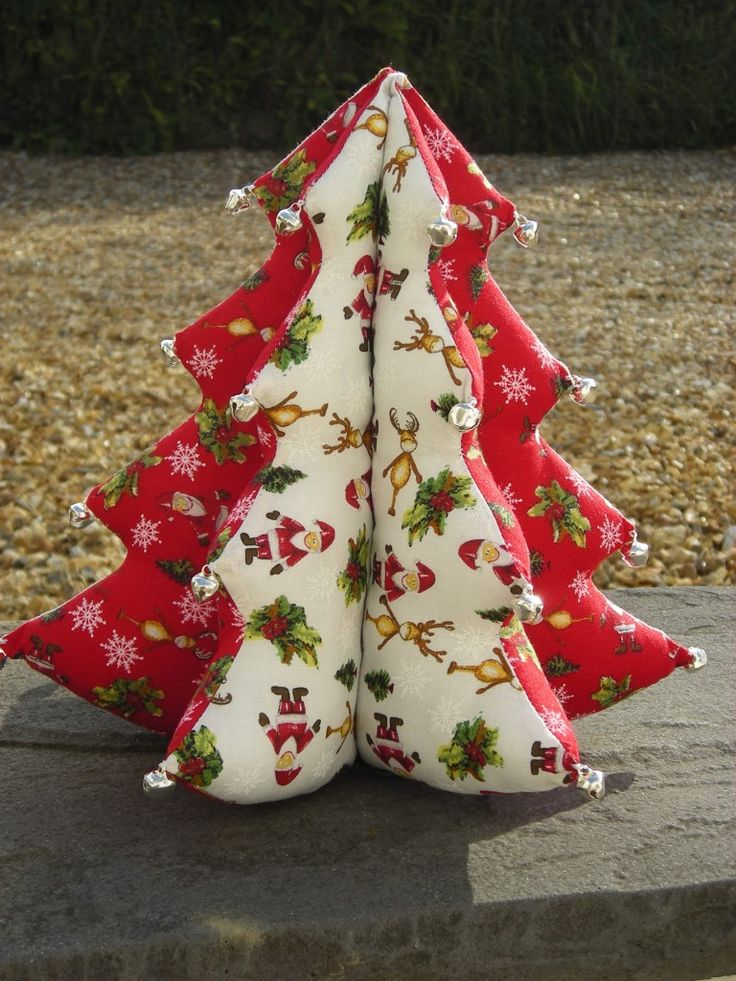 40 Fabric Christmas Tree Decorations Ideas Decoration Love