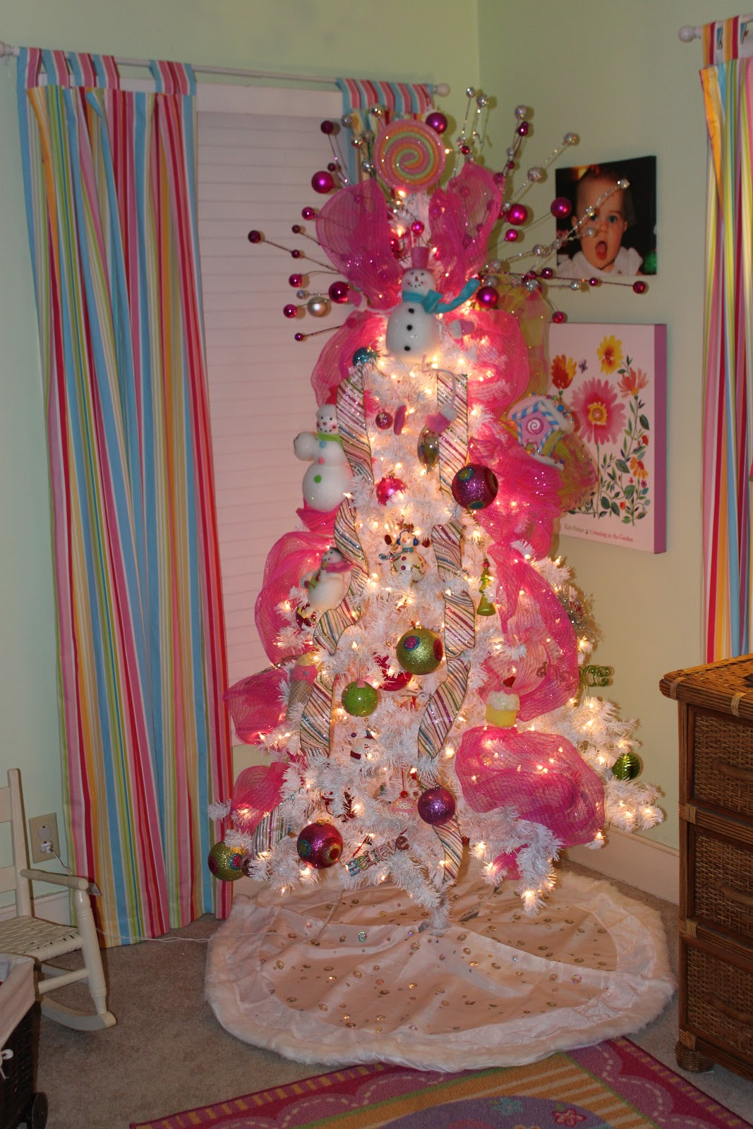 Christmas Decorations Living Room 38 Girly Christmas Tree Decorations Ideas - Decoration Love