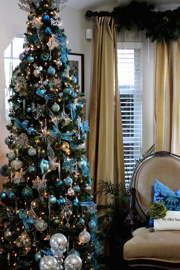Room Interior Decoration 45 Classy Christmas Tree Decorations Ideas - Decoration Love