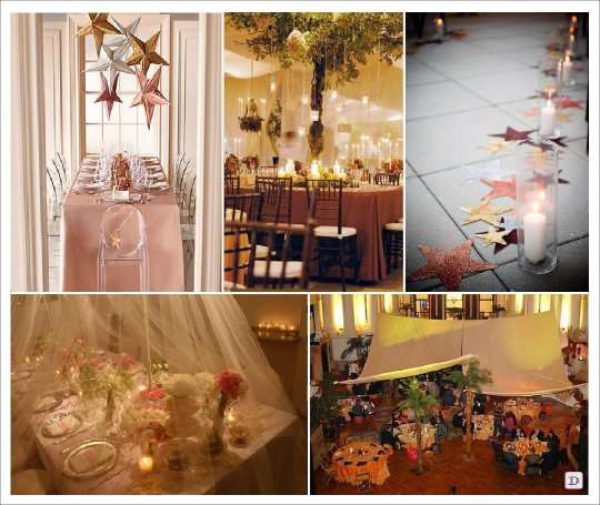 Voilage Rideau Mariage Theme Oriental Idees