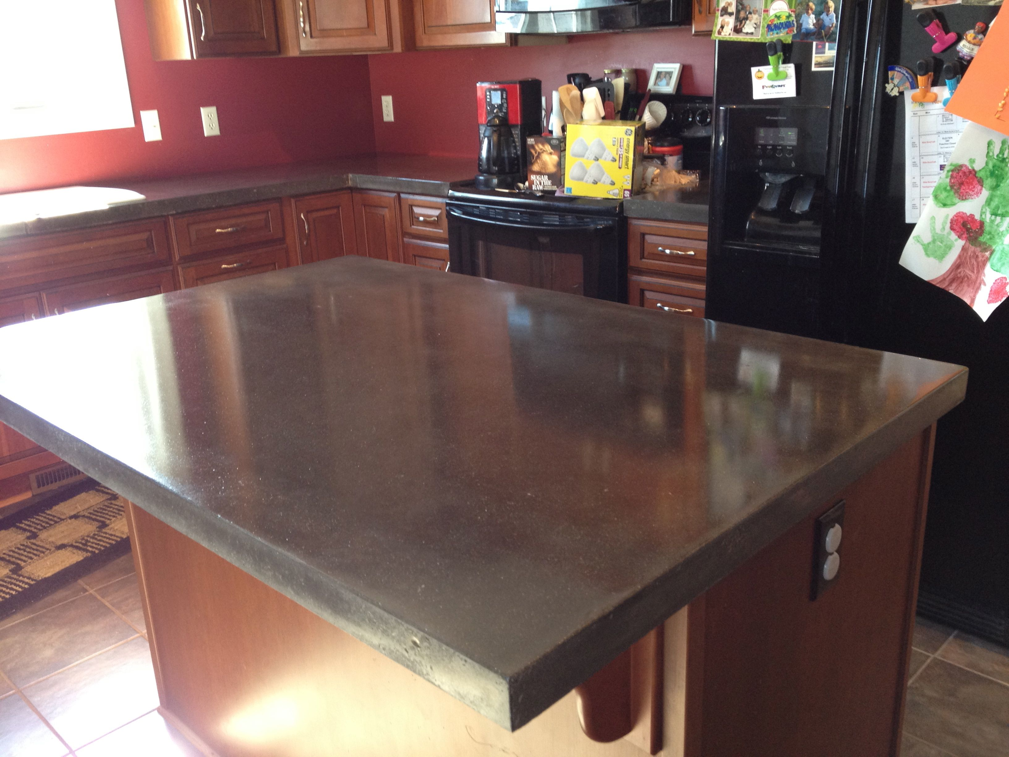 Concrete Countertop Reinforcement Polished Concrete Countertops Decorative Concrete Of